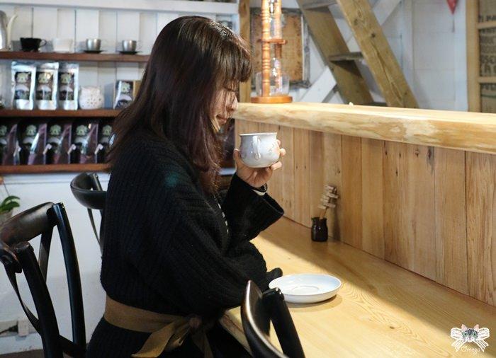 《花蓮市咖啡館》波提娜麗精品咖啡 Portinari。被施展魔法的精品咖啡,專注的感動