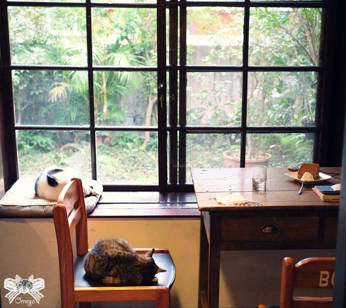 《花蓮貓咪餐廳》時光1939 日式老宅內的蔬食料理,街貓舊書咖啡香