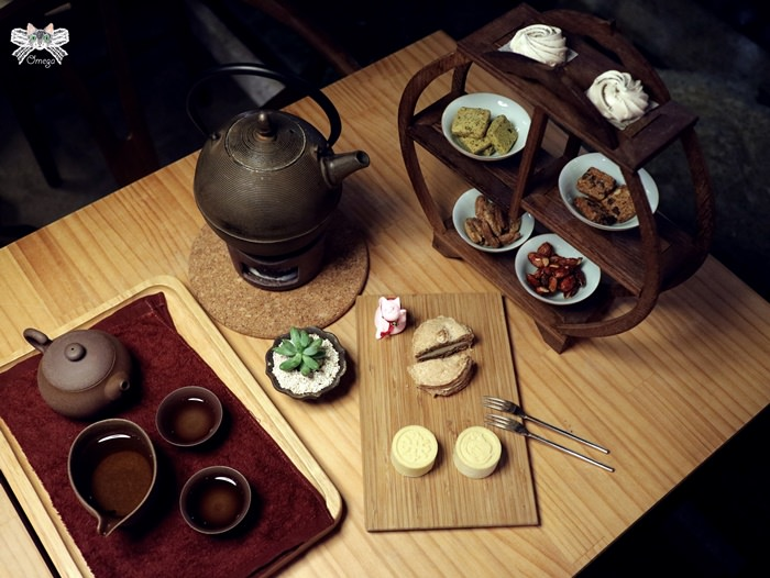 《美食*台北松山區》開門茶堂。來民生社區喝好茶,結合台灣茶葉與室內設計。