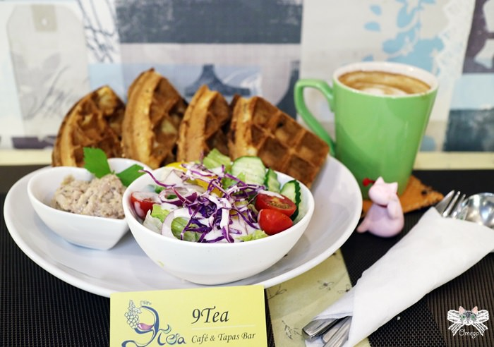 《美食*台北士林區》9TEA。士林站巷弄溫馨小酒咖啡館,愛心傘牽起的美麗緣分