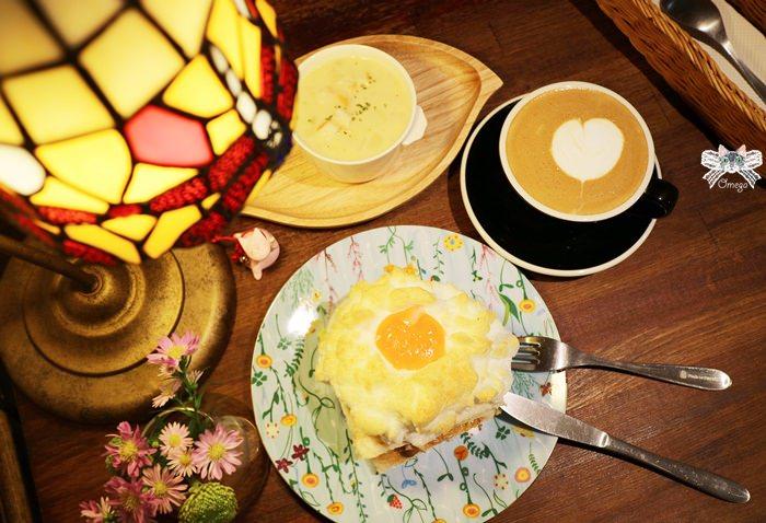 《永和貓咪咖啡》謝謝DOUMO。永安市場站愛貓店家,夢幻早午餐雲朵上的太陽