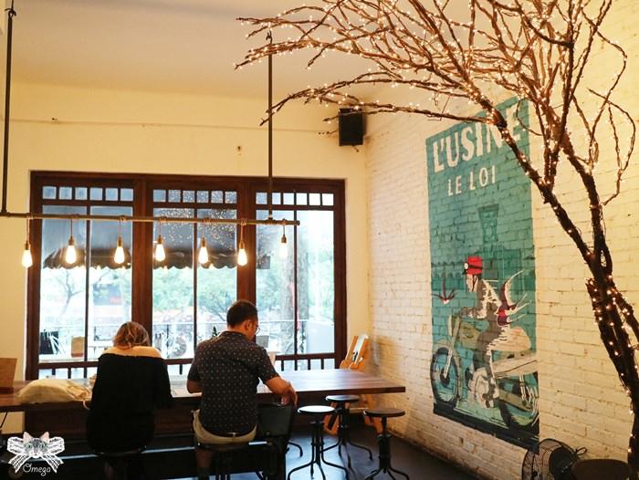 《美食*越南胡志明》L'USINE Le Loi。第一郡近濱城市場,結合服飾與文創商品的複合咖啡館