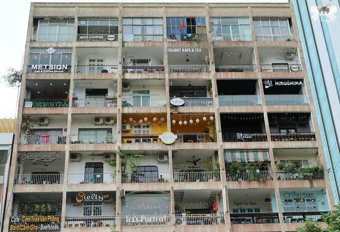 《旅遊*越南胡志明 》咖啡公寓。整個公寓都是我的咖啡館,咖啡文青空間控