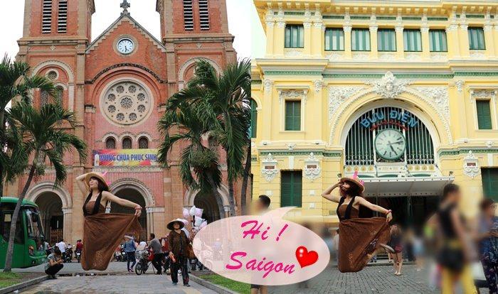《旅遊*越南胡志明 》紅教堂+郵政局,法國殖民風情建築快閃記