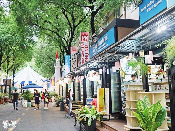 《旅遊*越南胡志明 》西貢書街。文青必訪新景點,書香伴隨咖啡香。