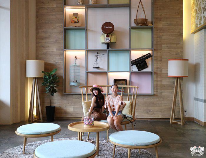 《越南胡志明住宿推薦》Fusion Suites Saigon(上)第一郡北歐木質風,馬卡龍色系的超美大廳!