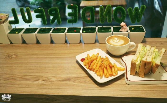 《美食*新北新莊區》丸福。上新莊新開幕的白色繪本風早午餐,親子友善