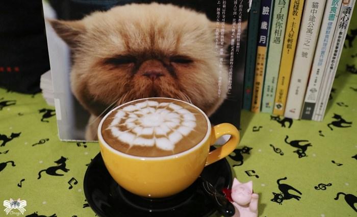 《美食*花蓮市》喵老大。近北濱公園,有愛的貓咪中途咖啡館