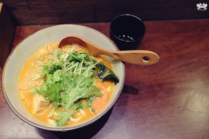 《美食*台北大安區》穗科|素食手打烏龍麵|簡單樸素的日式風味