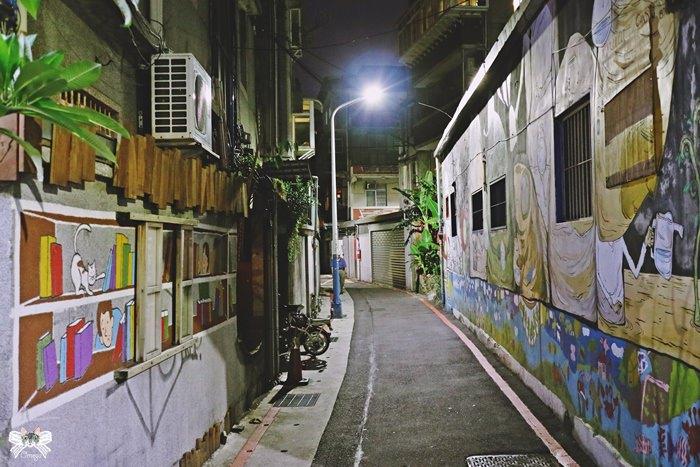 潮州街 彩繪