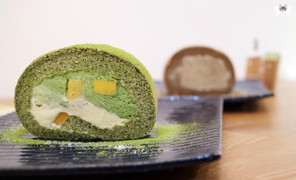 《新店貓咪甜點》小樂堂|抹茶蛋糕飲品專賣店,日式小清新氛圍有店貓