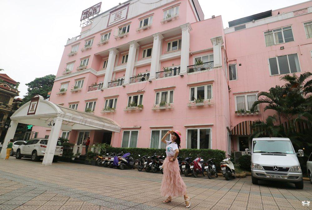 《越南河內美食》Phở Capital Garden|首都花園酒店粉紅心噴發!牛肉河粉搭配比臉大油條