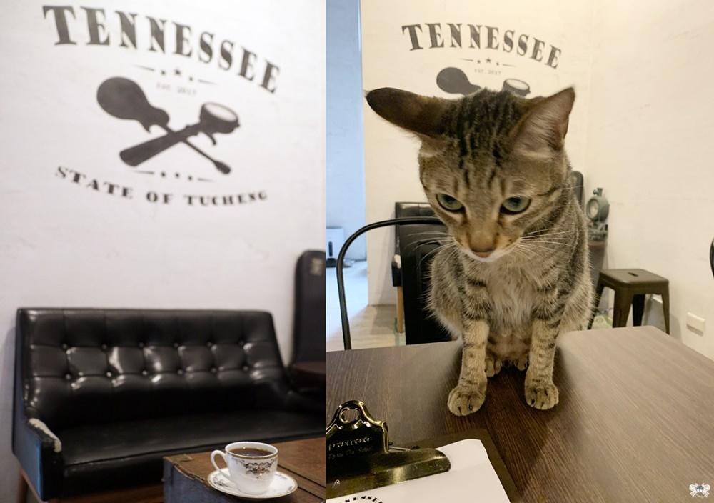 《土城貓咪咖啡》田納州咖啡坊 海山站工業風精品咖啡,店貓超親人