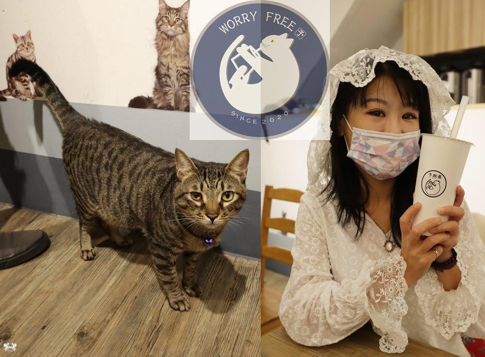 《永和貓咪飲品》予無憂 秀山國小對面,有可愛貓咪推薦加料小芋圓