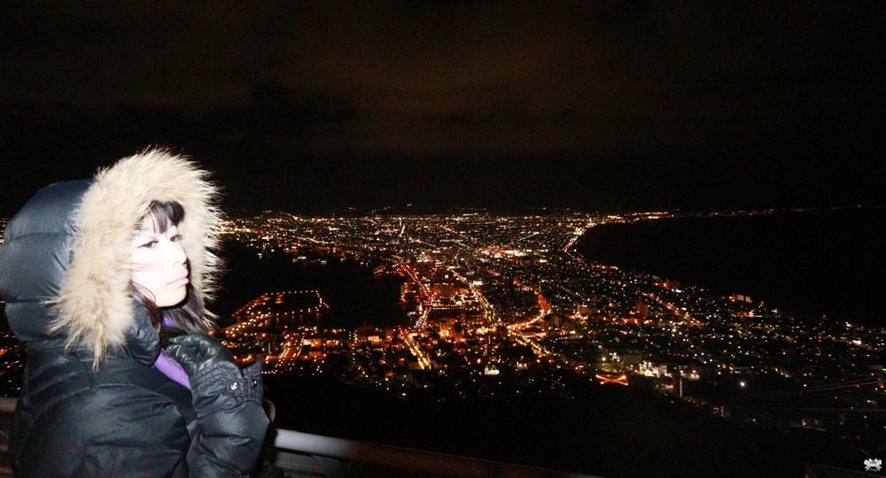《北海道函館景點》函館山纜車|浪漫百萬夜景即使再冷也願意