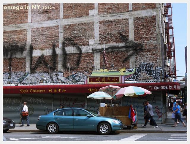 《旅遊*紐約 》中國城&小義大利
