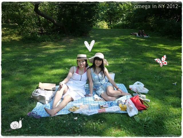 《旅遊*紐約》中央公園野餐趣