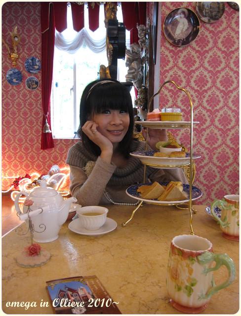 《美食*南投埔里》歐莉葉荷(下)~超奢華宮廷風餐廳