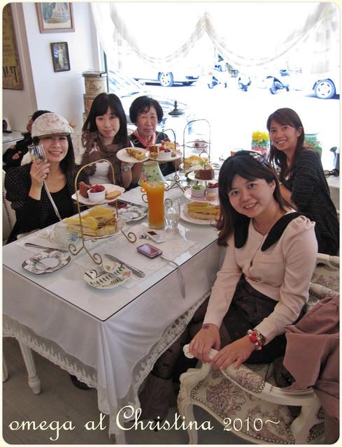 《美食*台北大安區》克里斯汀娜Christina。NiNi店聚,超浪漫法式下午茶