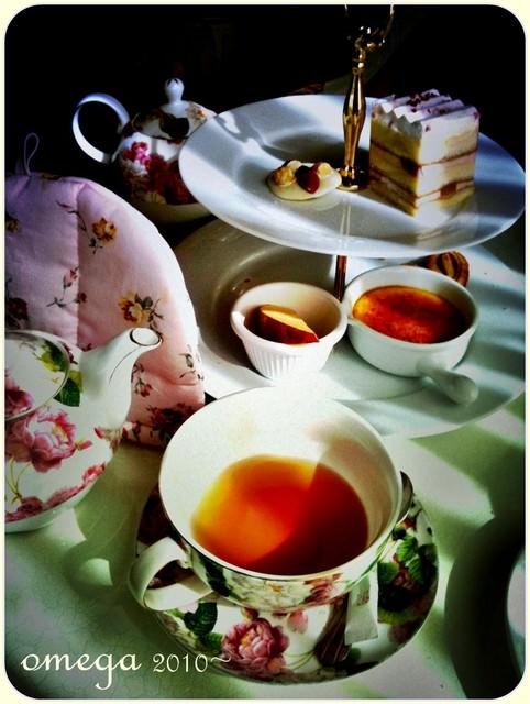 《美食*台北大安區》維多利亞下午茶。來當個山寨版公主吧