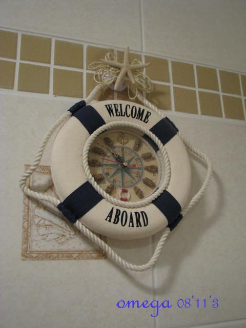 【公主殿】海洋雜貨風的廁所雛型