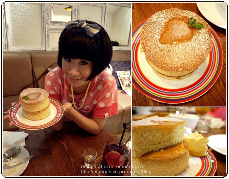 《美食*台北大安區》杏桃鬆餅屋。東京直送超厚蘇芙蕾